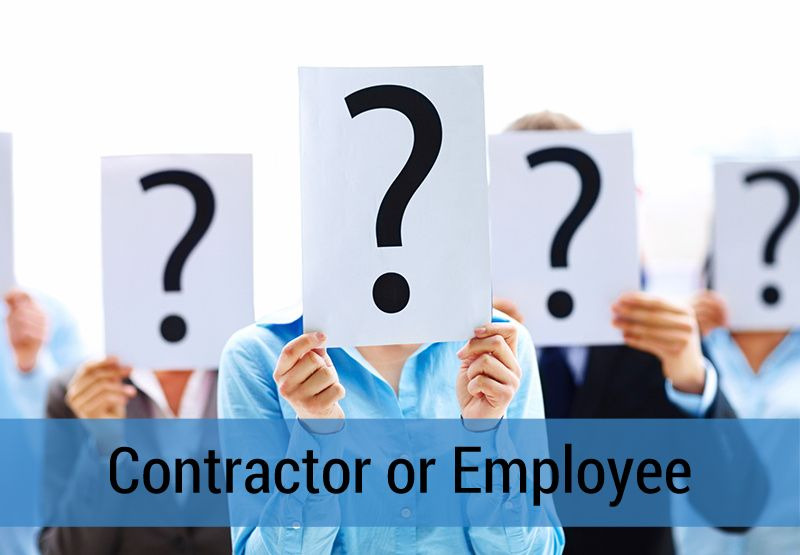 contractor or employee canada